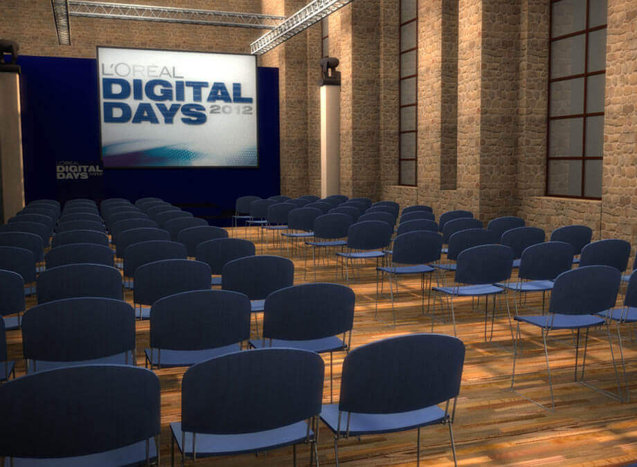 Loreal Digital Days Visualisierung