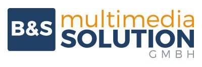 Logo B&S multimedia solution GmbH